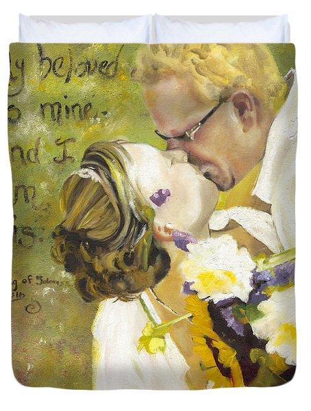 My Beloved Is Mine Duvet Cover