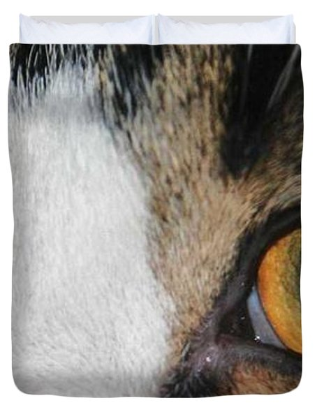 My Cat Is The Cat Of All Cats Duvet Cover by PainterArtist FIN