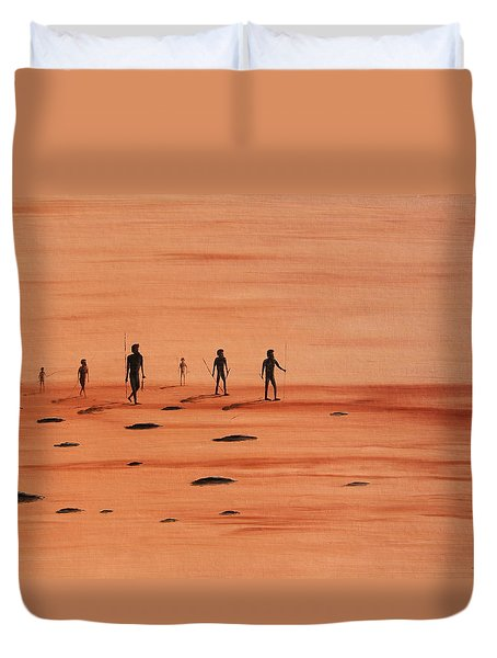 My Dreamtime 2 Duvet Cover by Tim Mullaney