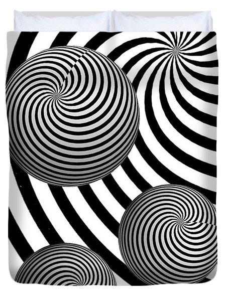 My Eyes Hurt Duvet Cover by Steve Purnell