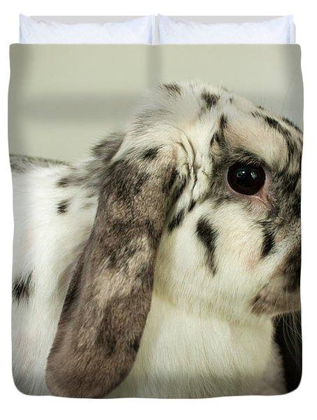 My Friend Bunny Duvet Cover