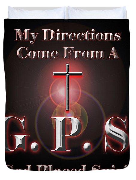 My Gps Duvet Cover