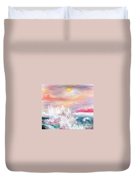 My Heaven Duvet Cover by Lori  Lovetere