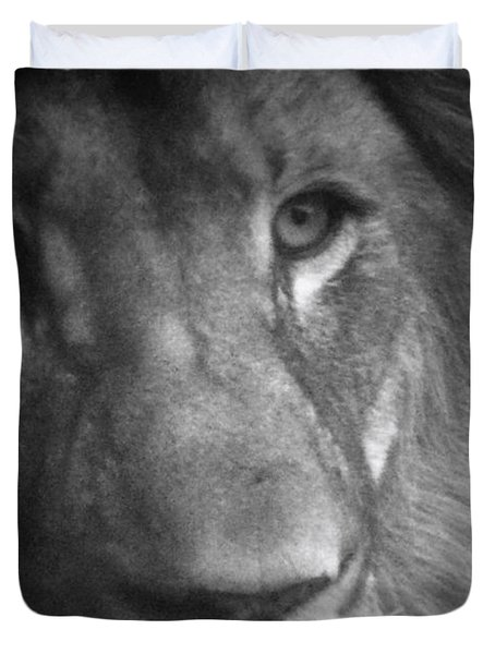 My Lion Eyes Duvet Cover by Thomas Woolworth