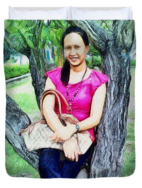 My Lovely Wife Duvet Cover