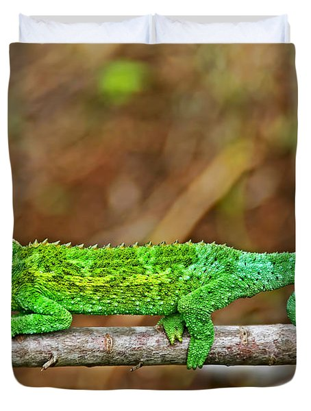 My Magical Tail Duvet Cover by Peggy Collins