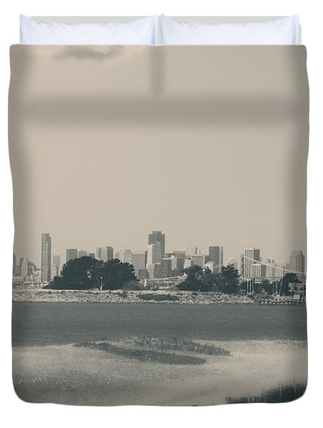 My Mind Knows No Quiet Duvet Cover by Laurie Search