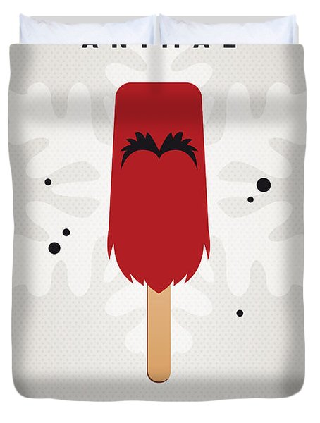 My Muppet Ice Pop - Animal Duvet Cover by Chungkong Art