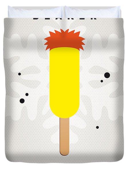 My Muppet Ice Pop - Beaker Duvet Cover by Chungkong Art