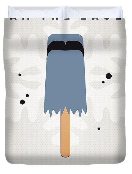 My Muppet Ice Pop - Sam The Eagle Duvet Cover by Chungkong Art