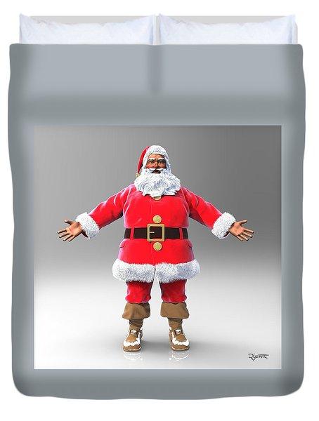 My Name Is Santa Duvet Cover