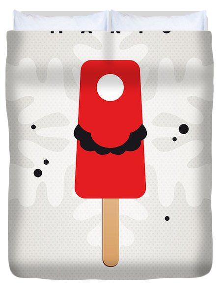 My Nintendo Ice Pop - Mario Duvet Cover
