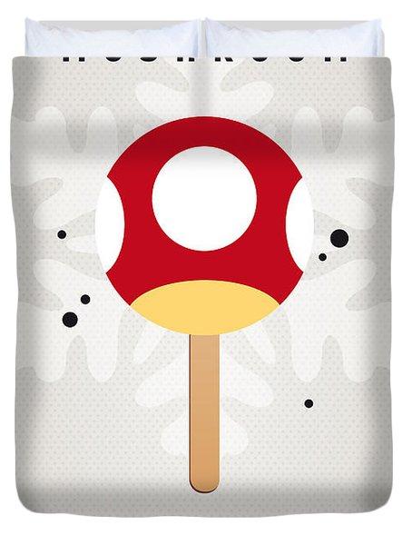 My Nintendo Ice Pop - Mushroom Duvet Cover