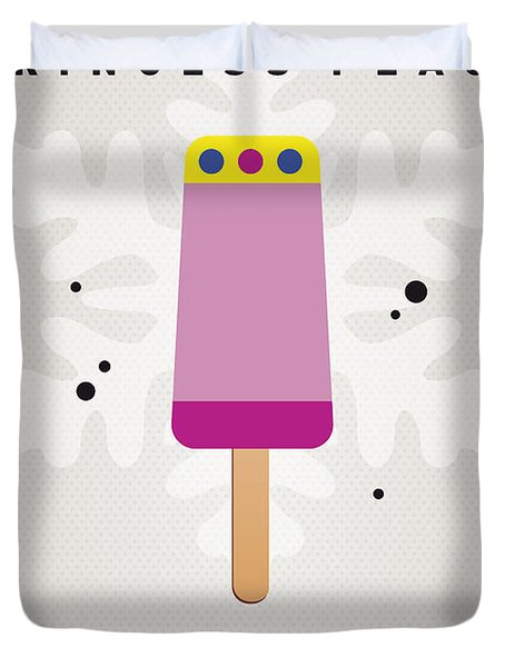 My Nintendo Ice Pop - Princess Peach Duvet Cover by Chungkong Art