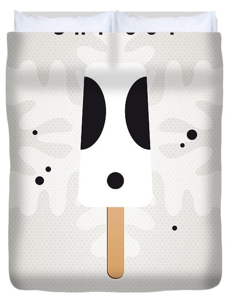 My Nintendo Ice Pop - Shy Guy Duvet Cover by Chungkong Art