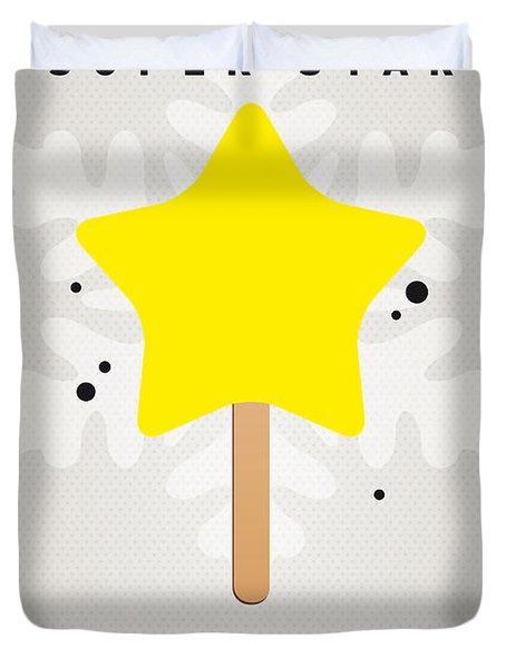 My Nintendo Ice Pop - Super Star Duvet Cover