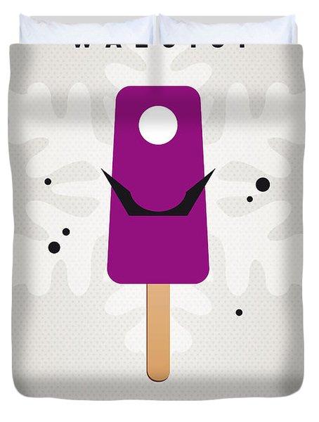 My Nintendo Ice Pop - Waluigi Duvet Cover