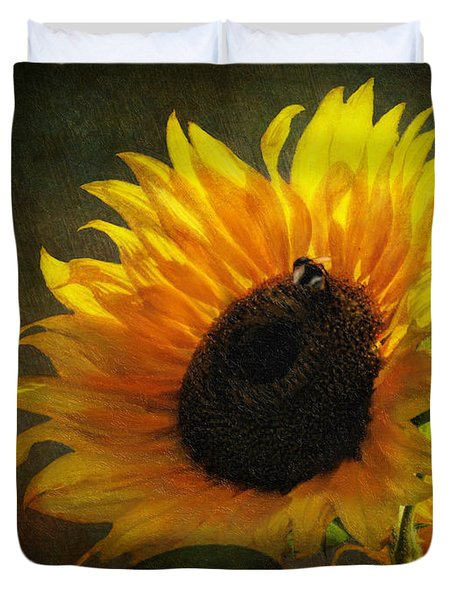 ...my Only Sunshine Duvet Cover by Lianne Schneider