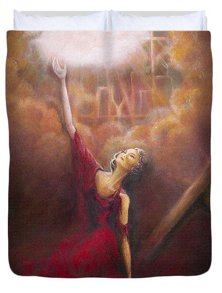 My Salvation  Duvet Cover
