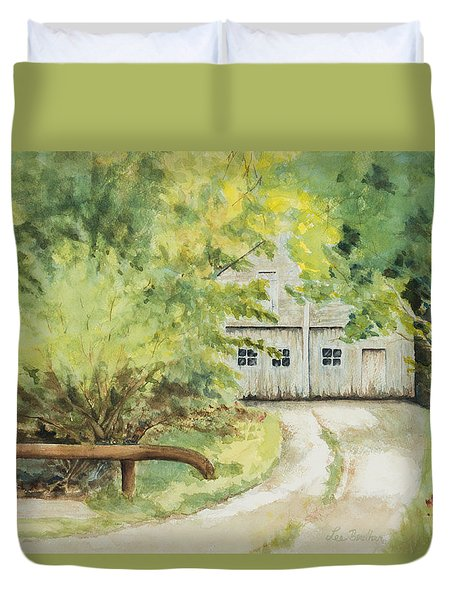My Secret Hiding Place Duvet Cover by Lee Beuther