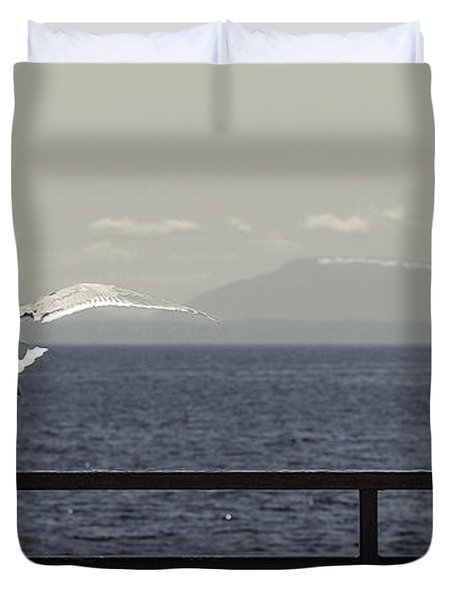 My Soul Is Full Of Longing Duvet Cover
