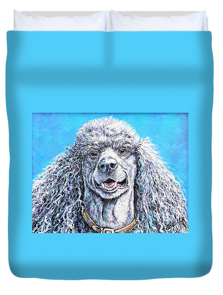 My Standard Of Excellence Duvet Cover by Gail Butler
