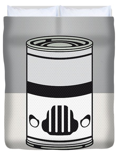 My Star Warhols Stormtrooper Minimal Can Poster Duvet Cover