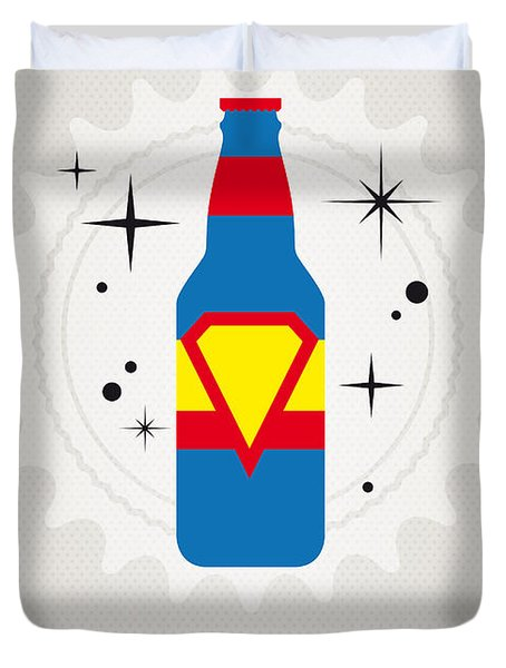 My Super Soda Pops No-05 Duvet Cover by Chungkong Art