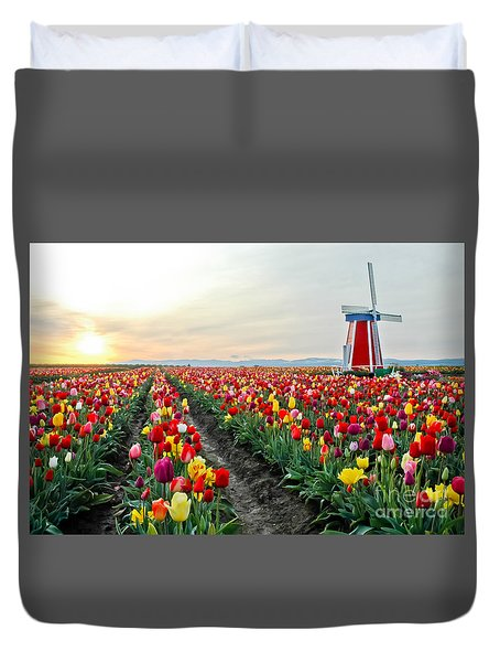 My Touch Of Holland 2 Duvet Cover by Nick  Boren