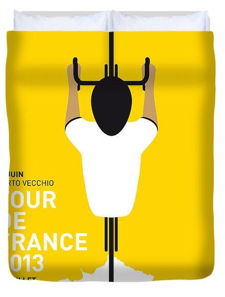 My Tour De France Minimal Poster Duvet Cover