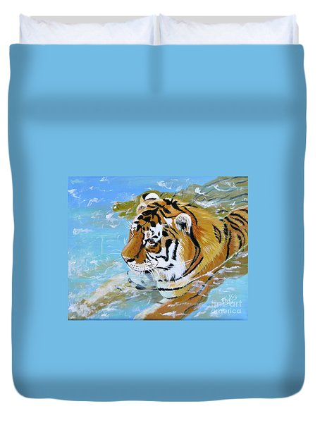 My Water Tiger Duvet Cover