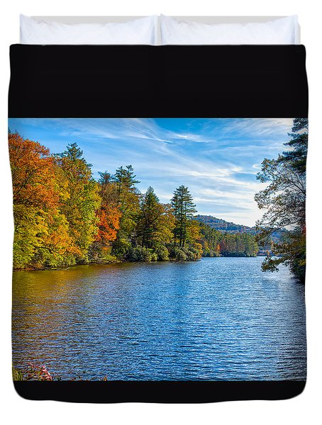 Myriad Colors Of Nature Duvet Cover