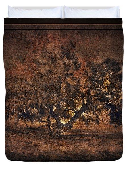 Mysterious Mesquite Duvet Cover