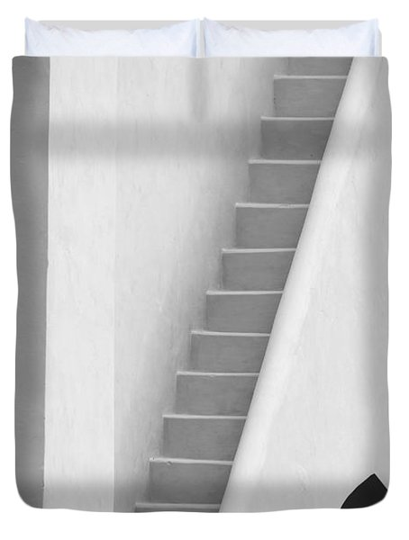 Mysterious Staircase Duvet Cover
