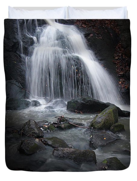 Mysterious Waterfall Duvet Cover