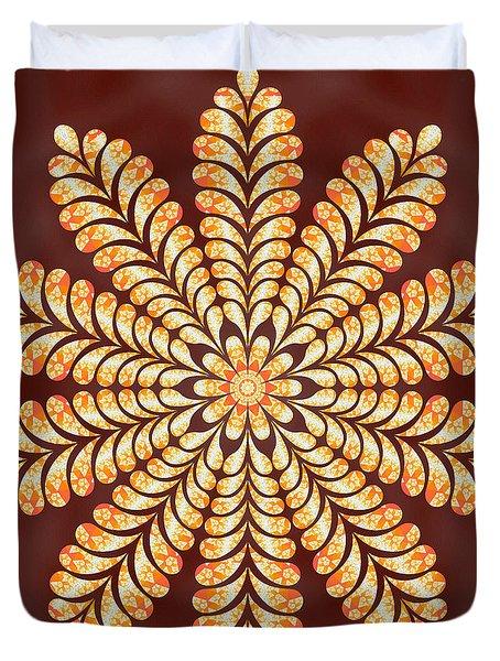 Mystery Jewel Of Kedah Duvet Cover by Derek Gedney