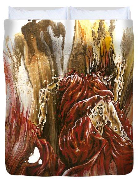 Mystery Duvet Cover by Karina Llergo