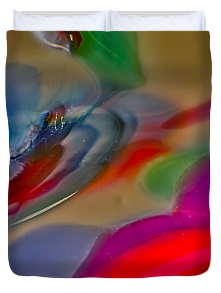 Mystic Dragon Duvet Cover by Omaste Witkowski
