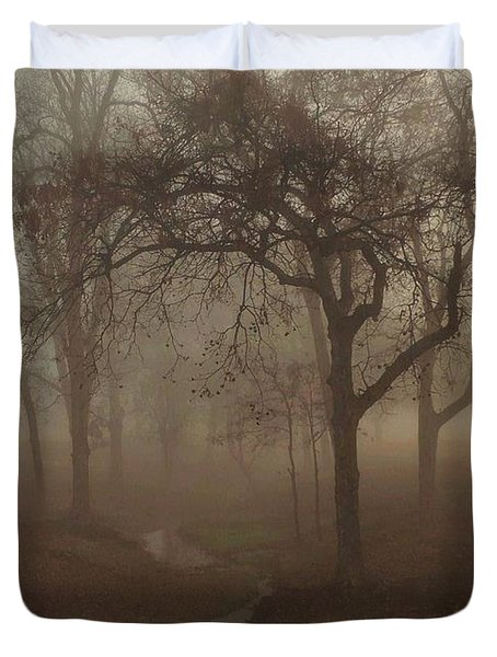 Mystic Forest 004 Duvet Cover by Robert ONeil