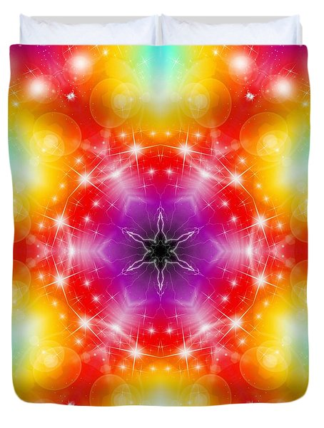 Mystic Karma Duvet Cover