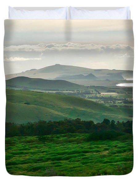 Mystic Morning Duvet Cover