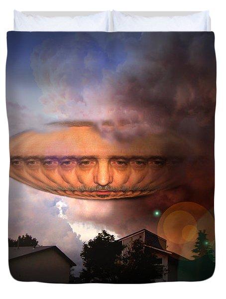 Mystic Ufo Duvet Cover