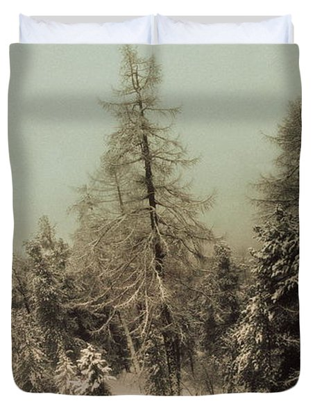 Mystic Woods Duvet Cover
