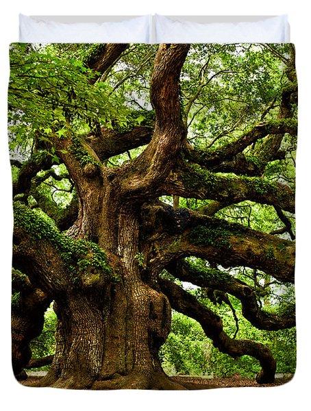 Mystical Angel Oak Tree Duvet Cover
