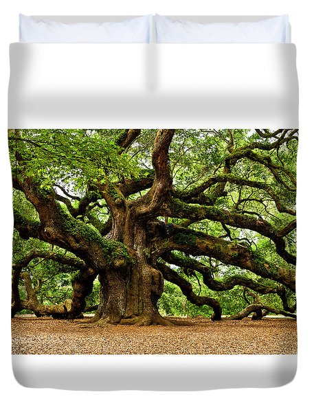 Mystical Angel Oak Tree Duvet Cover