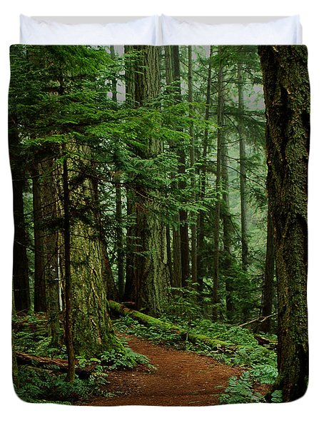 Mystical Path Duvet Cover
