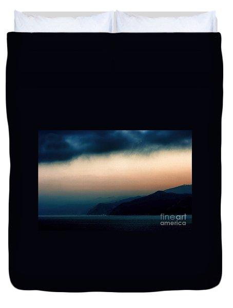 Mystical Sunrise Duvet Cover