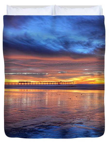 Mystical Sunset Duvet Cover