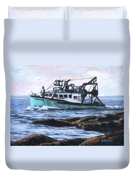 Mystique Lady Duvet Cover by Eileen Patten Oliver