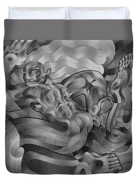 Mystique Duvet Cover